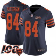 Wholesale Nike Bears #12 Allen Robinson II Navy Blue Team Color Women's Stitched NFL Vapor Untouchable Limited Jersey