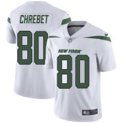 Wholesale Cheap Nike Jets #80 Wayne Chrebet White Youth Stitched NFL Vapor Untouchable Limited Jersey