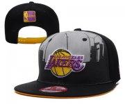 Wholesale Cheap NBA Los Angeles Lakers Snapback Ajustable Cap Hat XDF 020