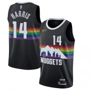 Wholesale Cheap Nuggets #14 Gary Harris Black Basketball Swingman City Edition 2019-20 Jersey