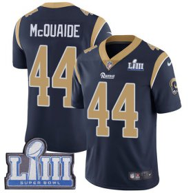 Wholesale Cheap Nike Rams #44 Jacob McQuaide Navy Blue Team Color Super Bowl LIII Bound Youth Stitched NFL Vapor Untouchable Limited Jersey
