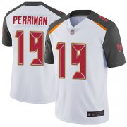 Wholesale Cheap Nike Buccaneers #19 Breshad Perriman White Men's Stitched NFL Vapor Limited Jersey