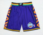 Wholesale Cheap 1995 All-Star Purple Hardwood Classics Swingman Shorts