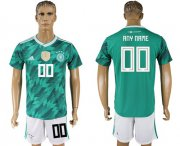 Wholesale Cheap Germany Personalized Away Soccer Country Jersey