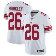 Wholesale Cheap Nike Giants #26 Saquon Barkley White Youth Stitched NFL Vapor Untouchable Limited Jersey