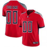 Wholesale Cheap Nike Tennessee Titans Customized Red Men's Stitched NFL Limited Inverted Legend Jersey
