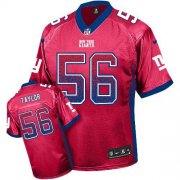 Wholesale Cheap Nike Giants #56 Lawrence Taylor Red Alternate Men's Stitched NFL Elite Drift Fashion Jersey