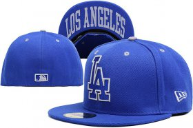 Wholesale Cheap Los Angeles Dodgers fitted hats 08