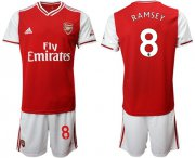 Wholesale Cheap Arsenal #8 Ramsey Home Soccer Club Jersey