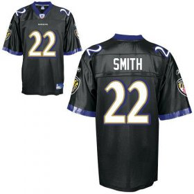 Wholesale Cheap Ravens #22 Jimmy Smith Black Stitched NFL Jersey