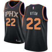 Wholesale Cheap Women's Nike Phoenix Suns #22 Deandre Ayton Black NBA Swingman Statement Edition Jersey