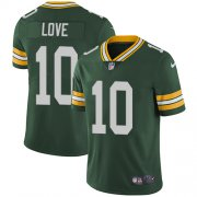 Wholesale Cheap Nike Packers #10 Jordan Love Green Team Color Men's Stitched NFL Vapor Untouchable Limited Jersey