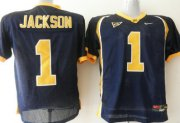 Wholesale Cheap California Golden Bears #1 Jackson Blue Jersey