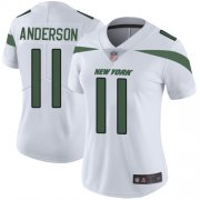 Wholesale Cheap Nike Jets #11 Robby Anderson White Women's Stitched NFL Vapor Untouchable Limited Jersey