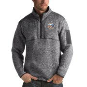Wholesale Cheap New York Islanders Antigua Fortune Quarter-Zip Pullover Jacket Black