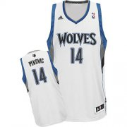 Wholesale Cheap Minnesota Timberwolves #14 Nikola Pekovic White Swingman Jersey