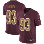 Wholesale Cheap Nike Redskins #93 Jonathan Allen Burgundy Red Alternate Youth Stitched NFL Vapor Untouchable Limited Jersey