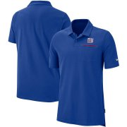 Wholesale Cheap New York Giants Nike Sideline Elite Performance Polo Royal