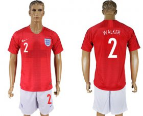 Wholesale Cheap England #2 Walker Away Soccer Country Jersey