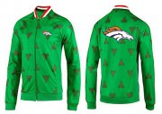 Wholesale Cheap NFL Denver Broncos Team Logo Jacket Green