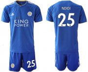 Wholesale Cheap Leicester City #25 Ndidi Home Soccer Club Jersey
