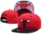 Wholesale Cheap NBA Chicago Bulls Snapback Ajustable Cap Hat LH 03-13_17