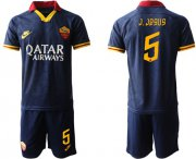 Wholesale Cheap Roma #5 J.Jesus Third Soccer Club Jersey
