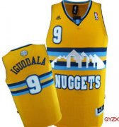 Wholesale Cheap Denver Nuggets #9 Andre Iguodala Yellow Swingman Jersey