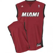 Wholesale Cheap Miami Heat Blank Red Swingman Jersey