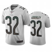 Wholesale Cheap Los Angeles Chargers #32 Nasir Adderley White Vapor Limited City Edition NFL Jersey