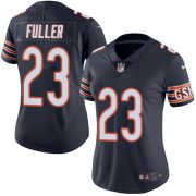 Wholesale Cheap Nike Bears #23 Kyle Fuller Navy Blue Team Color Women's Stitched NFL Vapor Untouchable Limited Jersey