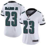 Wholesale Cheap Nike Eagles #23 Rodney McLeod Jr White Women's Stitched NFL Vapor Untouchable Limited Jersey