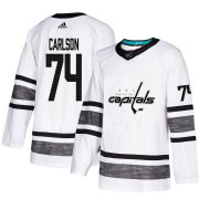 Wholesale Cheap Adidas Capitals #74 John Carlson White Authentic 2019 All-Star Stitched NHL Jersey