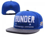 Wholesale Cheap NBA Oklahoma City Thunder Snapback Ajustable Cap Hat XDF 023