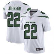 Wholesale Cheap Nike Jets #22 Trumaine Johnson White Youth Stitched NFL Vapor Untouchable Limited Jersey