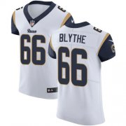 Wholesale Cheap Nike Rams #66 Austin Blythe White Men's Stitched NFL New Elite Jersey