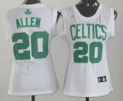 Wholesale Cheap Boston Celtics #20 Ray Allen White Womens Jersey