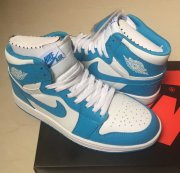 Wholesale Cheap Air Jordan 1 North Carolina Blue/white