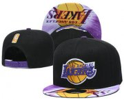 Wholesale Cheap Los Angeles Lakers Snapback Ajustable Cap Hat YD 16