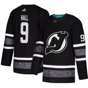 Wholesale Cheap Adidas Devils #9 Taylor Hall Black Authentic 2019 All-Star Stitched Youth NHL Jersey
