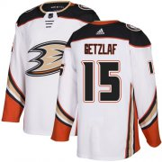 Wholesale Cheap Adidas Ducks #15 Ryan Getzlaf White Road Authentic Youth Stitched NHL Jersey