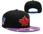 Wholesale Cheap MLB Toronto Blue Jays Snapback Ajustable Cap Hat 3