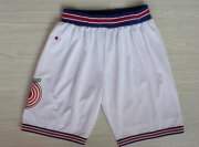 Wholesale Cheap NBA Space Jam White Short