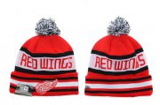 Wholesale Cheap Detroit Red Wings Beanies YD008