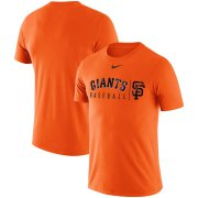 Wholesale Cheap San Francisco Giants Nike MLB Practice T-Shirt Orange