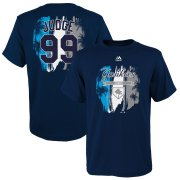 Wholesale Cheap New York Yankees #99 Aaron Judge Majestic Youth 2019 Spring Training Name & Number T-Shirt Navy