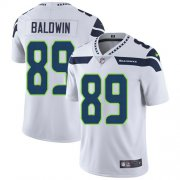 Wholesale Cheap Nike Seahawks #89 Doug Baldwin White Men's Stitched NFL Vapor Untouchable Limited Jersey