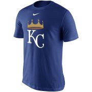 Wholesale Cheap Kansas City Royals Nike Legend Batting Practice Primary Logo Performance T-Shirt Royal