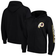 Wholesale Cheap Washington Redskins G-III Sports by Carl Banks Post Route Full-Zip Hoodie Black