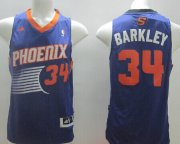 Wholesale Cheap Phoenix Suns #34 Charles Barkley Revolution 30 Swingman Purple Jersey